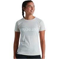Tricou SPECIALIZED Women's Wordmark - Dove Grey L