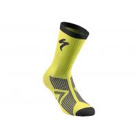 Sosete SPECIALIZED SL Elite Winter - Neon Yellow/Black M
