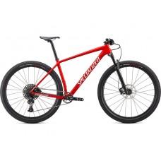 Bicicleta SPECIALIZED Epic Hardtail 29'' - Gloss Flo Red/Metallic White Silver/Tarmac Black XS