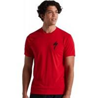 Tricou SPECIALIZED Men's S-Logo SS - Flo Red XXL