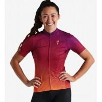Tricou SPECIALIZED Women's RBX Comp SS - Orange Sunset/Violet L