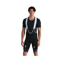 Pantaloni scurti cu bretele RBX Comp Logo Bib Short - Black L