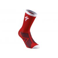 Sosete SPECIALIZED SL Elite Winter - Red/White L