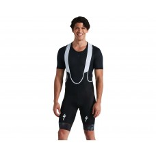 Pantaloni scurti cu bretele RBX Comp Logo Bib Short - Black M