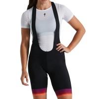 Pantaloni cu bretele SPECIALIZED RBX Comp Women's Bib Short - Orange Sunset/Violet L