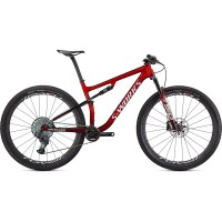 Bicicleta SPECIALIZED S-Works Epic- Gloss Red/Tarmac Black/White w/Gold XL