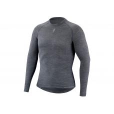 Bluza SPECIALIZED Merino LS Baselayer - Grey S
