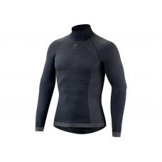 Bluza SPECIALIZED Seamless LS Layer with Roll Neck - Dark Grey XL/XXL