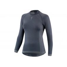 Bluza SPECIALIZED Seamless Women's LS Baselayer - Dark Grey L/XL