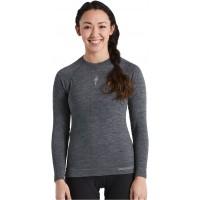 Bluza SPECIALIZED Women's Merino Seamless LS Base Layer - Grey L/XL