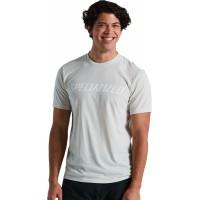 Tricou SPECIALIZED Men's Wordmark - Dove Gray L
