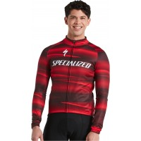 Tricou softshell SPECIALIZED Men's Factory Racing Team SL Expert - Black/Red L