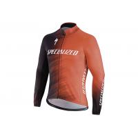 Jacheta ciclism SPECIALIZED Therminal SL Team Expert Jersey LS Rocket Red/Black Faze XL