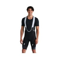 Pantaloni scurti cu bretele RBX Comp Logo Bib Short - Black XL