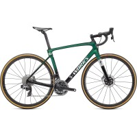 Bicicleta SPECIALIZED S-Works Roubaix - SRAM Red eTap AXS - Gloss Green Tint 61