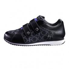 Incaltaminte FOX G-E-FOOTWEAR GIRLS ENVY STRAP BLK/GREY (FOX-65080-014-063)