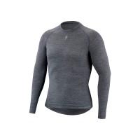 Bluza SPECIALIZED Merino LS Baselayer - Grey M/L