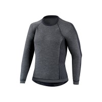 Bluza SPECIALIZED Seamless Baselayer with Protection LS - Dark Grey M/L