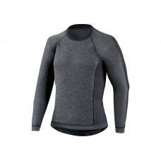 Bluza SPECIALIZED Seamless Baselayer LS - Dark Grey M/L