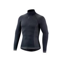 Bluza SPECIALIZED Seamless LS Layer with Roll Neck - Dark Grey S