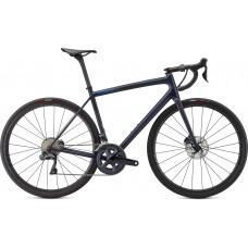 Bicicleta SPECIALIZED Aethos Pro - Ultegra Di2 - Satin Blue Murano/Carbon/Cobalt 56